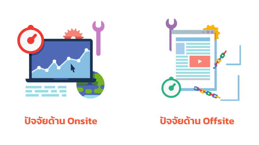 SEO Onsite และ Offsite